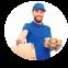 Доставка еды и продуктов